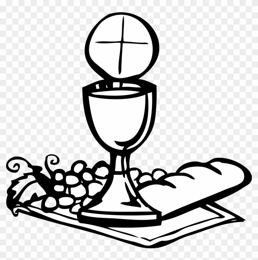 Communion Clip Art Girl.