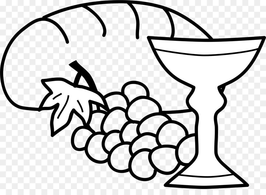 Wine Sacramental Bread Eucharist Clip Ar #128168.