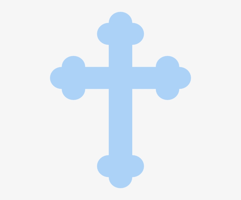 Baptism Cross Clipart Black And White.