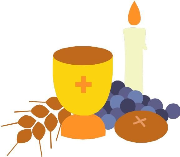 Easter clip art communion.