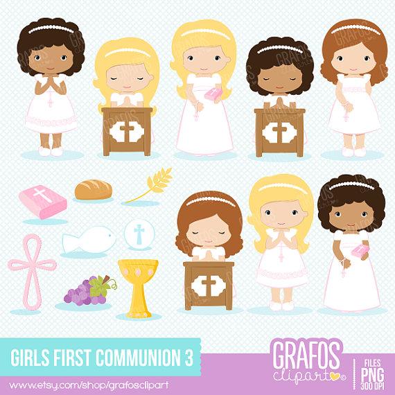 GIRLS FIRST COMMUNION 3.