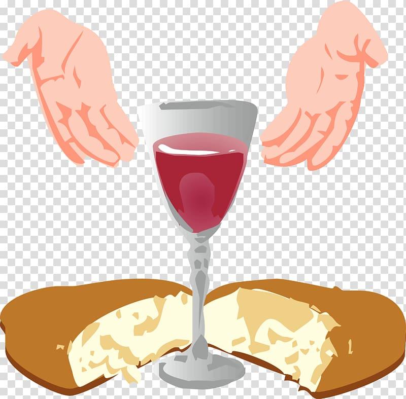 Gray wine glass , Eucharist First Communion Sacramental.