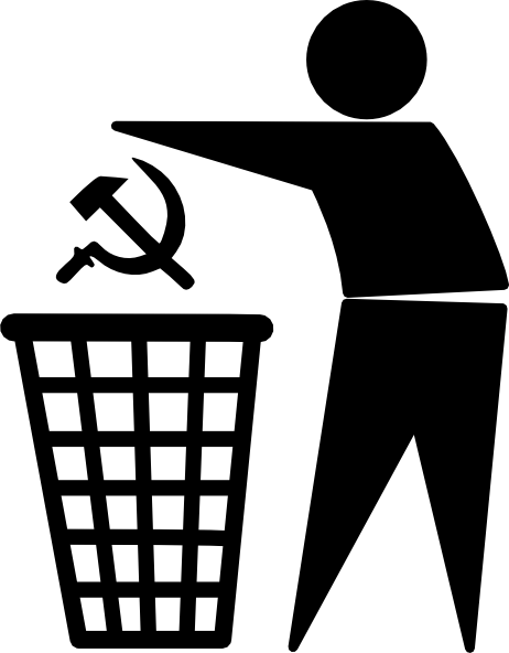 Toss Out Communism Clip Art at Clker.com.