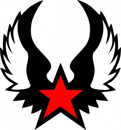 Communist star clipart.
