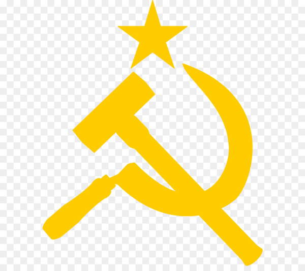 Flag of the Soviet Union Hammer and sickle Symbol.