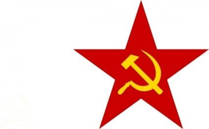 Communist Star clip art Clipart Graphic.