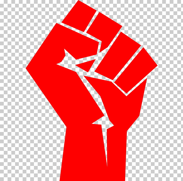 Raised fist Symbol Thumb signal Communism, communism, red.