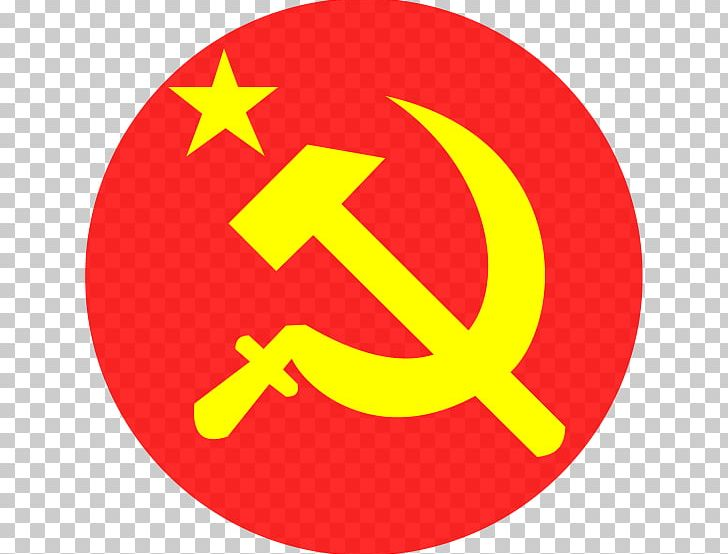 Flag Of The Soviet Union Hammer And Sickle Communist Symbolism PNG.