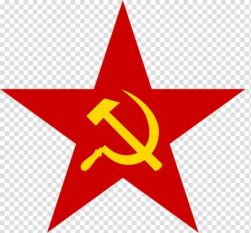 Soviet Union Red star Communism Hammer and sickle Communist.
