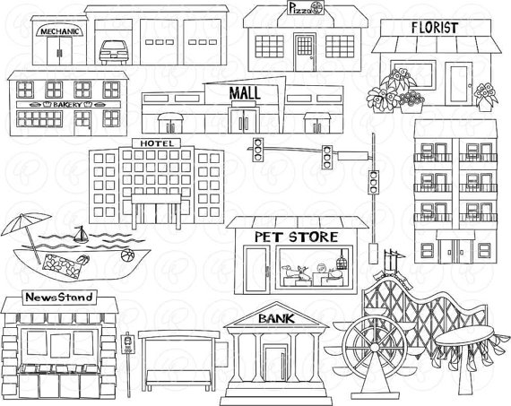 Community clipart black and white 3 » Clipart Station.