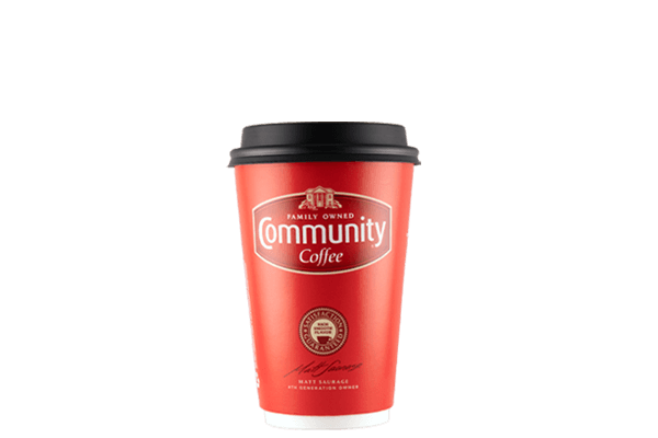 Community Coffee 16 ounce Paper Cup (384 count).