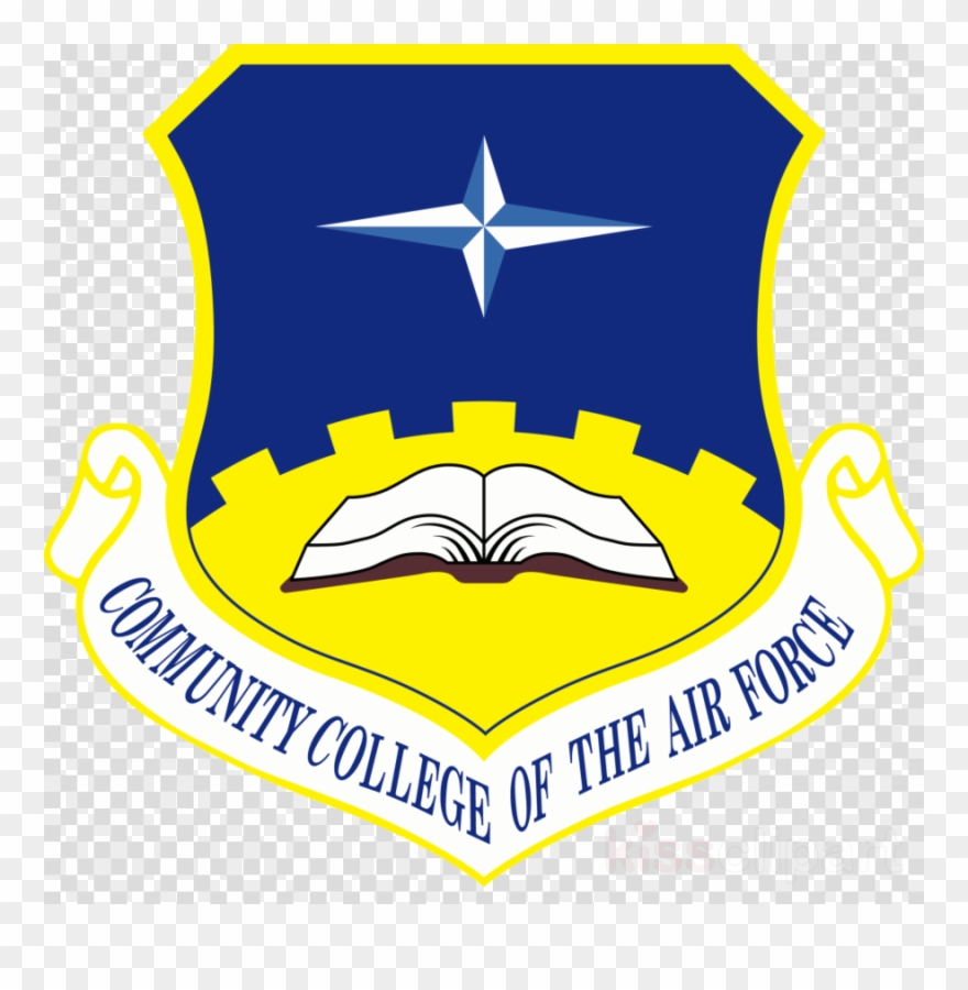 Download Community College Of The Air Force Logo Clipart.