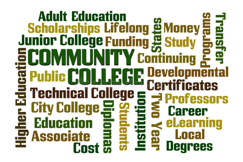 College Community Stock Illustrations.