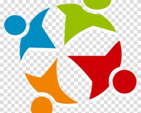 Learning community Logo Business Community development.