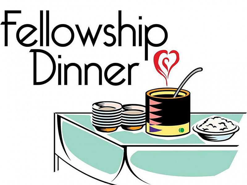 Fellowship Meal Cliparts.