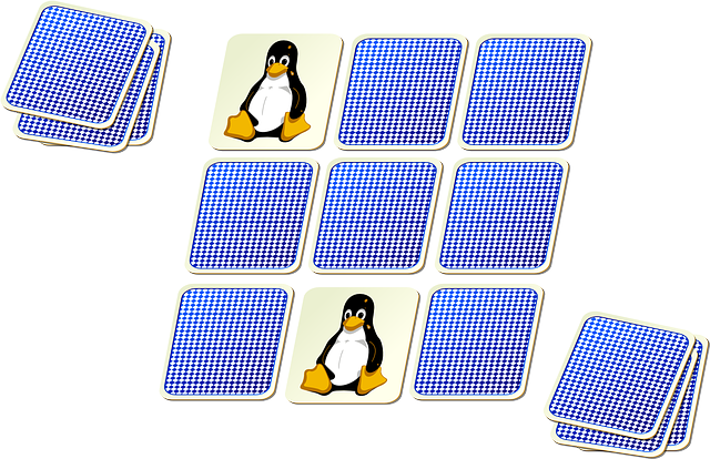 Memory Card Game Clipart.