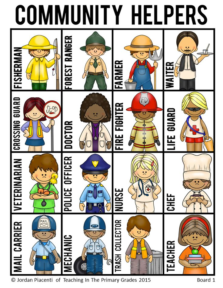 People Occupations Jobs And Community At: Community Game Clipart