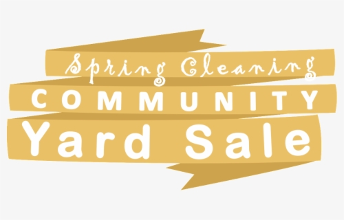 Free Yard Sale Clip Art with No Background.