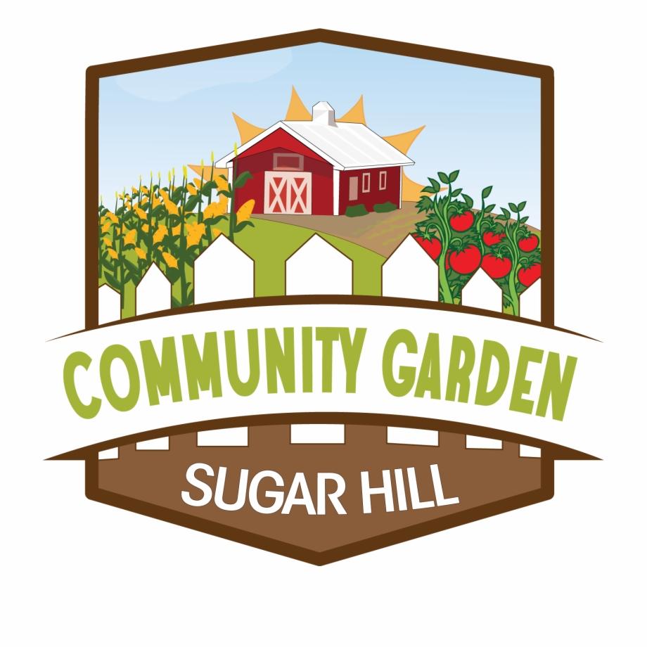 Community Garden Clipart.