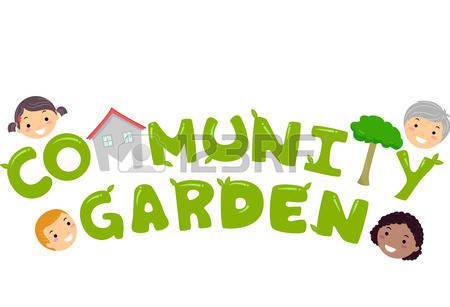 389 Community Garden Stock Vector Illustration And Royalty Free.
