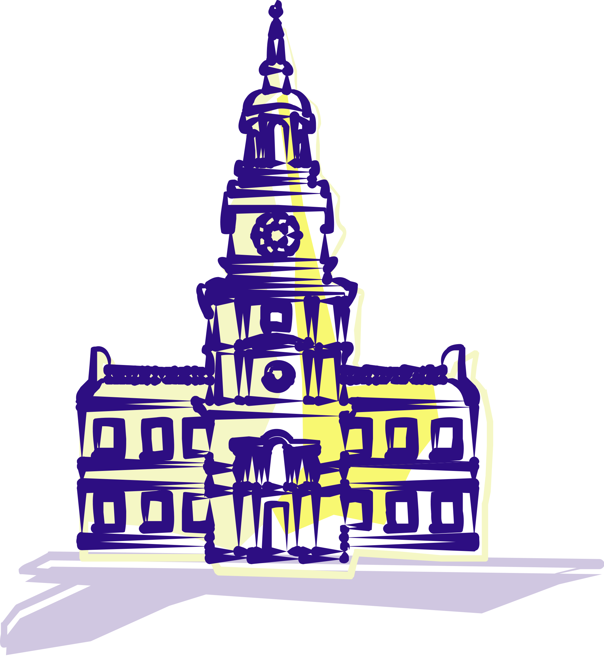 File:Independence Hall clip art.svg.