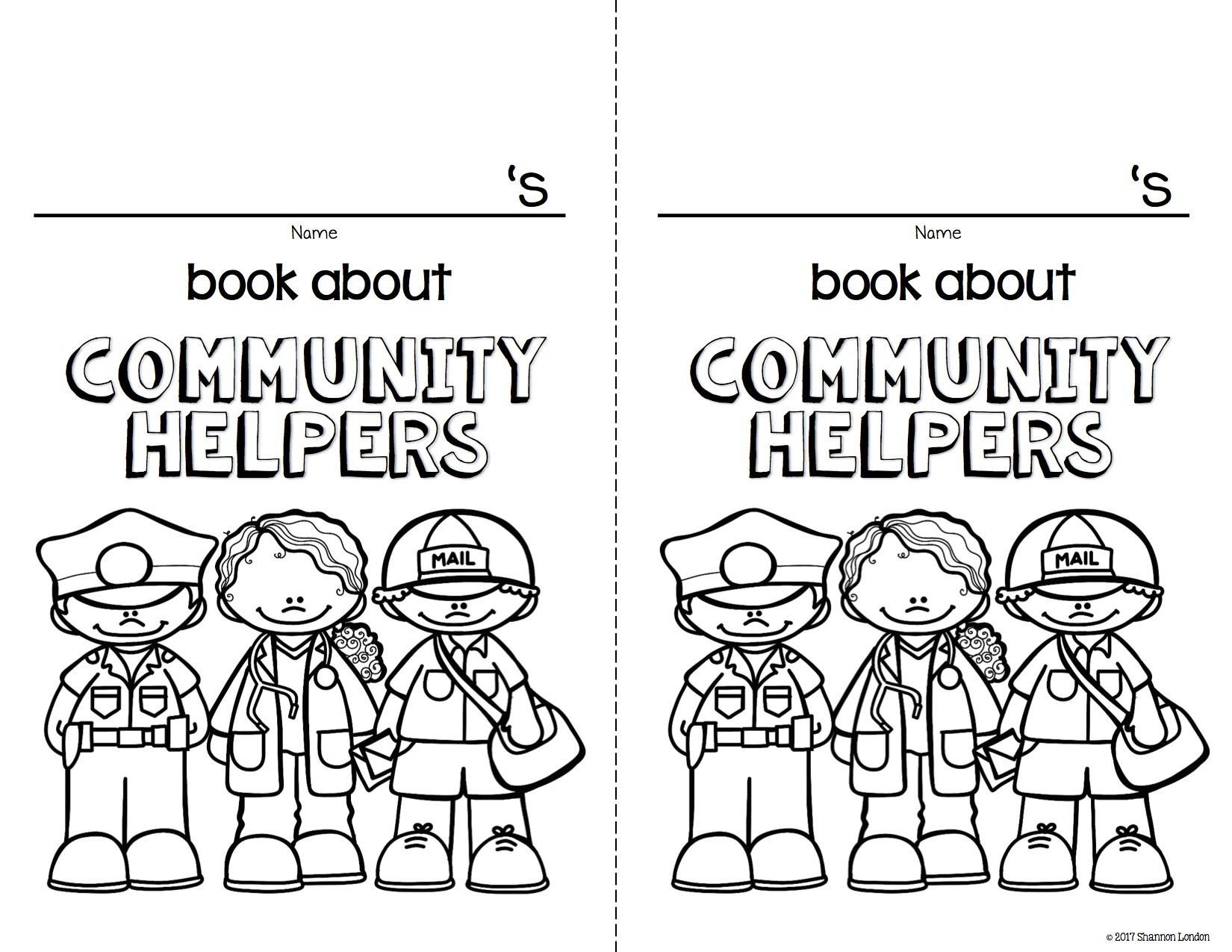 Community Helpers Unit for Preschool and Kindergarten.