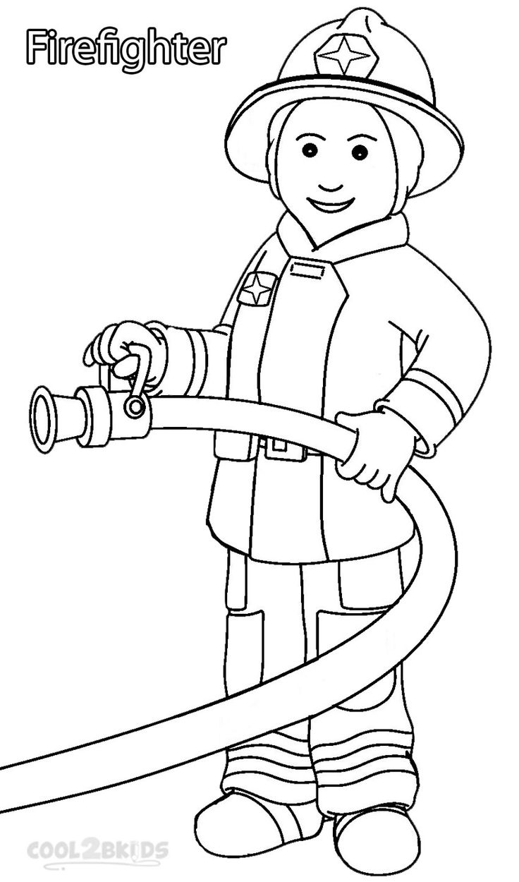 Community helpers clipart black and white 9 » Clipart Station.