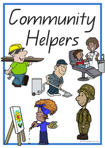 Free Printable Community Helpers Clipart.