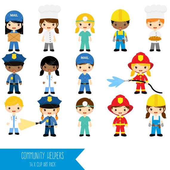 Community Helpers Clipart (104+ images in Collection) Page 1.
