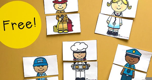 Free Community Helpers Clipart.
