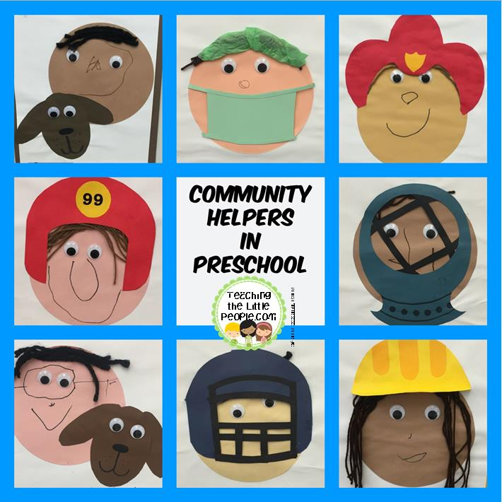 Community Helpers (and Their Hats) in Preschool::Teaching The Little.