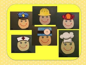 Community Helpers Hat Worksheets & Teaching Resources.