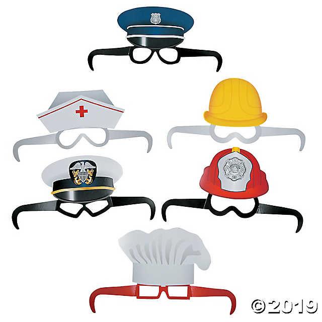 Community Helper Glasses.