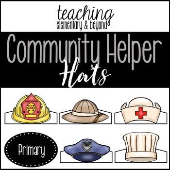 Community Helper Hats Worksheets & Teaching Resources.