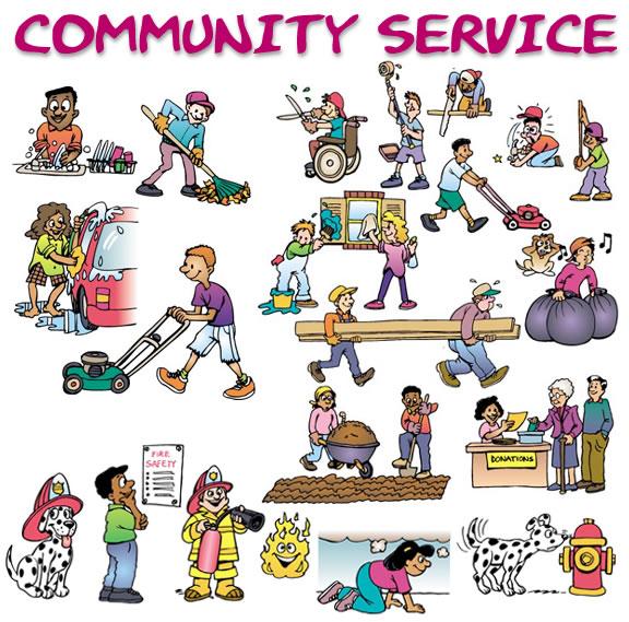 Community Service Cliparts.