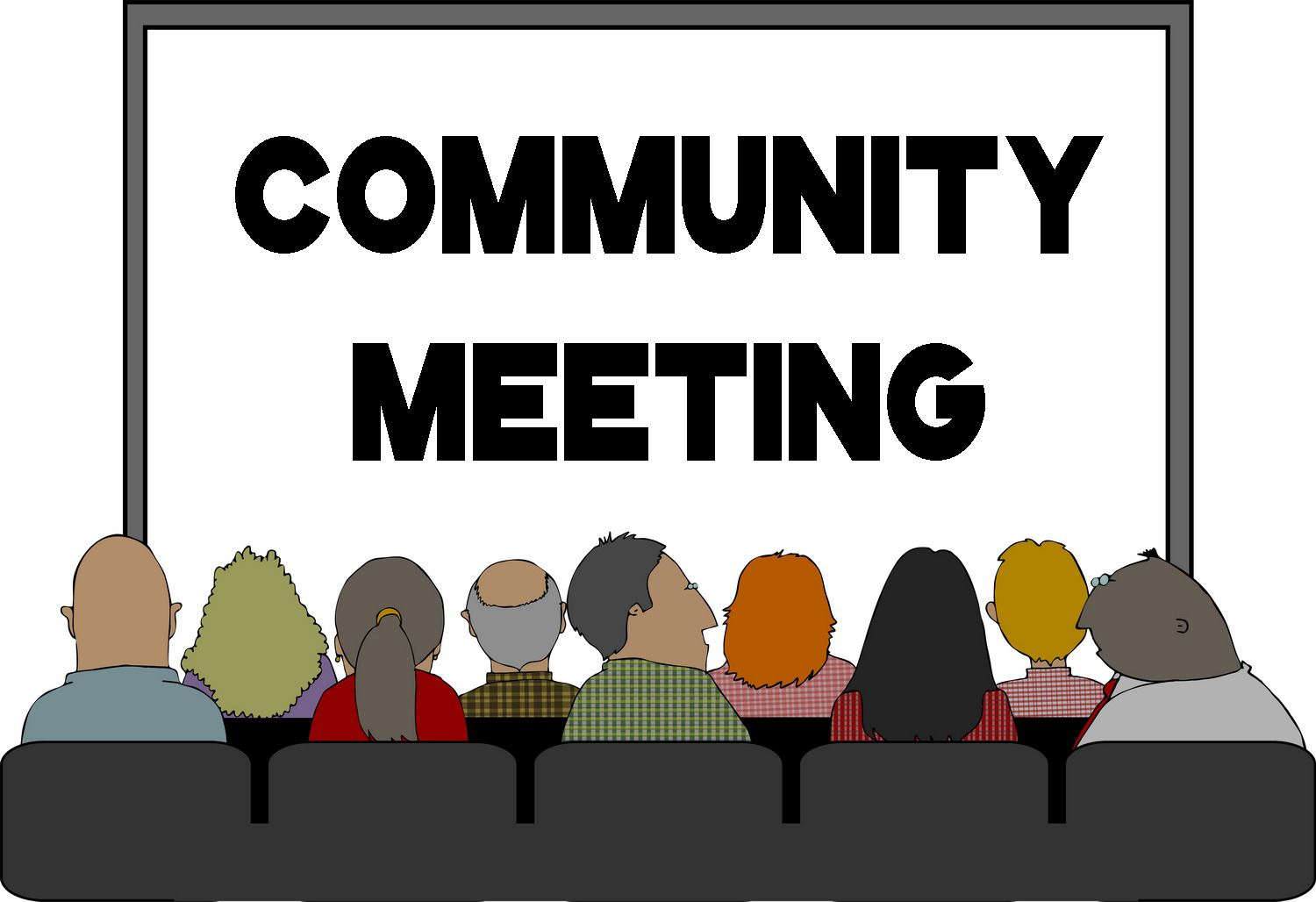 Community Meeting Cliparts.