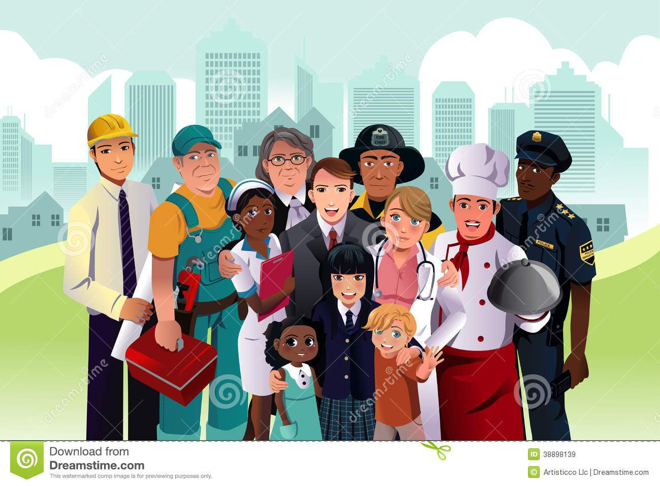 People in the community clipart 5 » Clipart Portal.