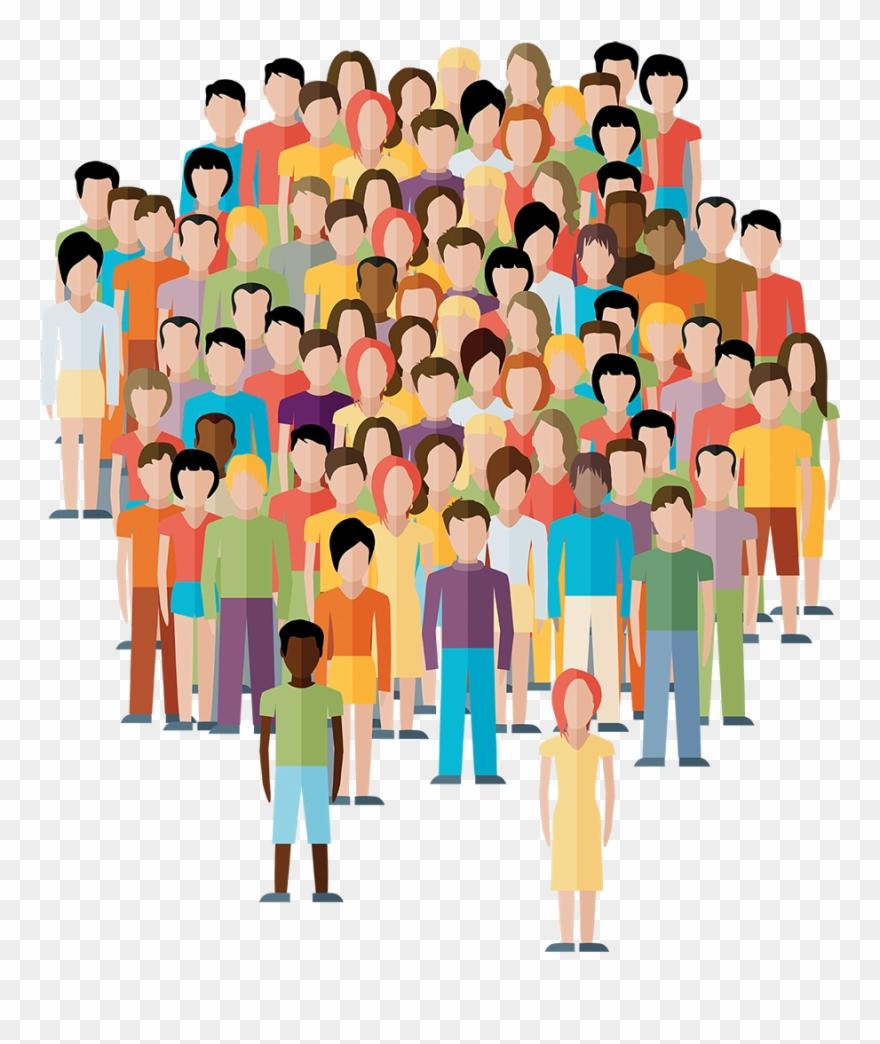 People,Social group,Crowd,Illustration,Community,Cartoon,Fun,Clip.