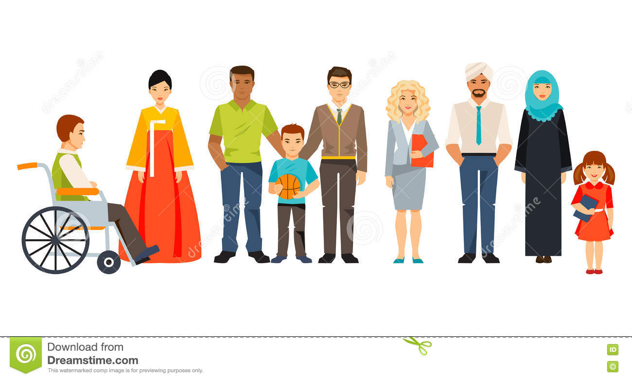 Group Of People Clipart.
