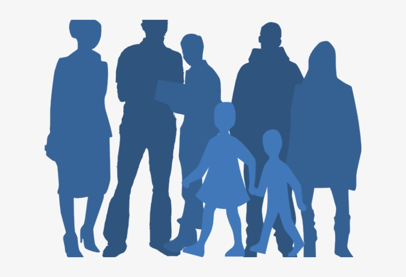 People Silhouette Clipart Community.