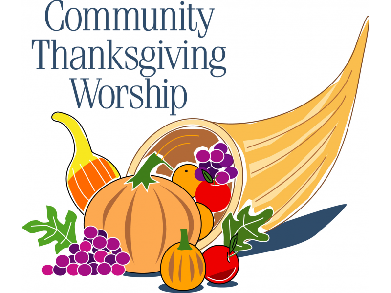 Community Thanksgiving Eve Service.
