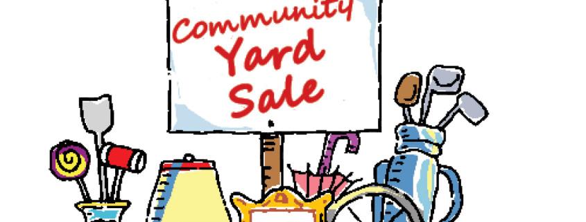Yard Sale Art.