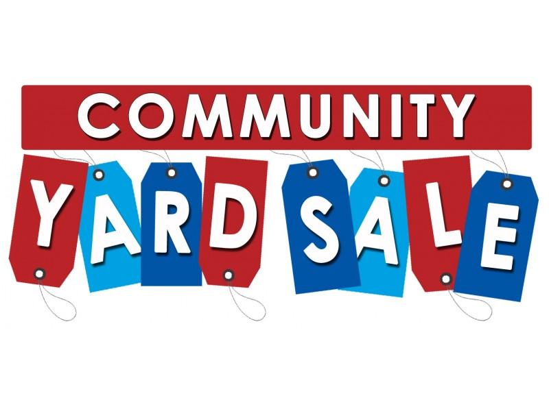 Community Yard Sale 2019.