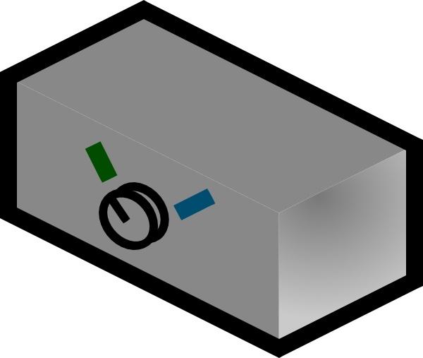 Commutator clip art Free vector in Open office drawing svg ( .svg.