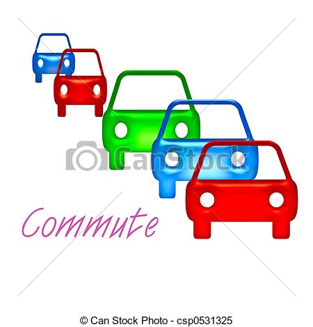 Stock Illustrations of commuter sign.
