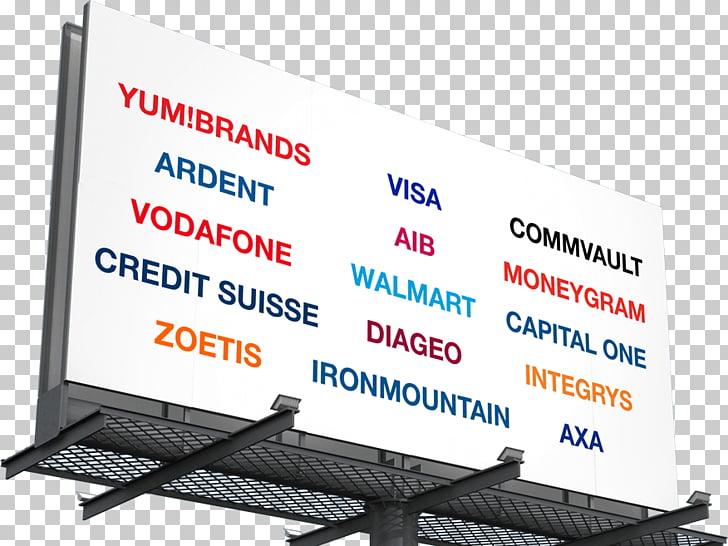 Brand Display advertising Organization Display device.