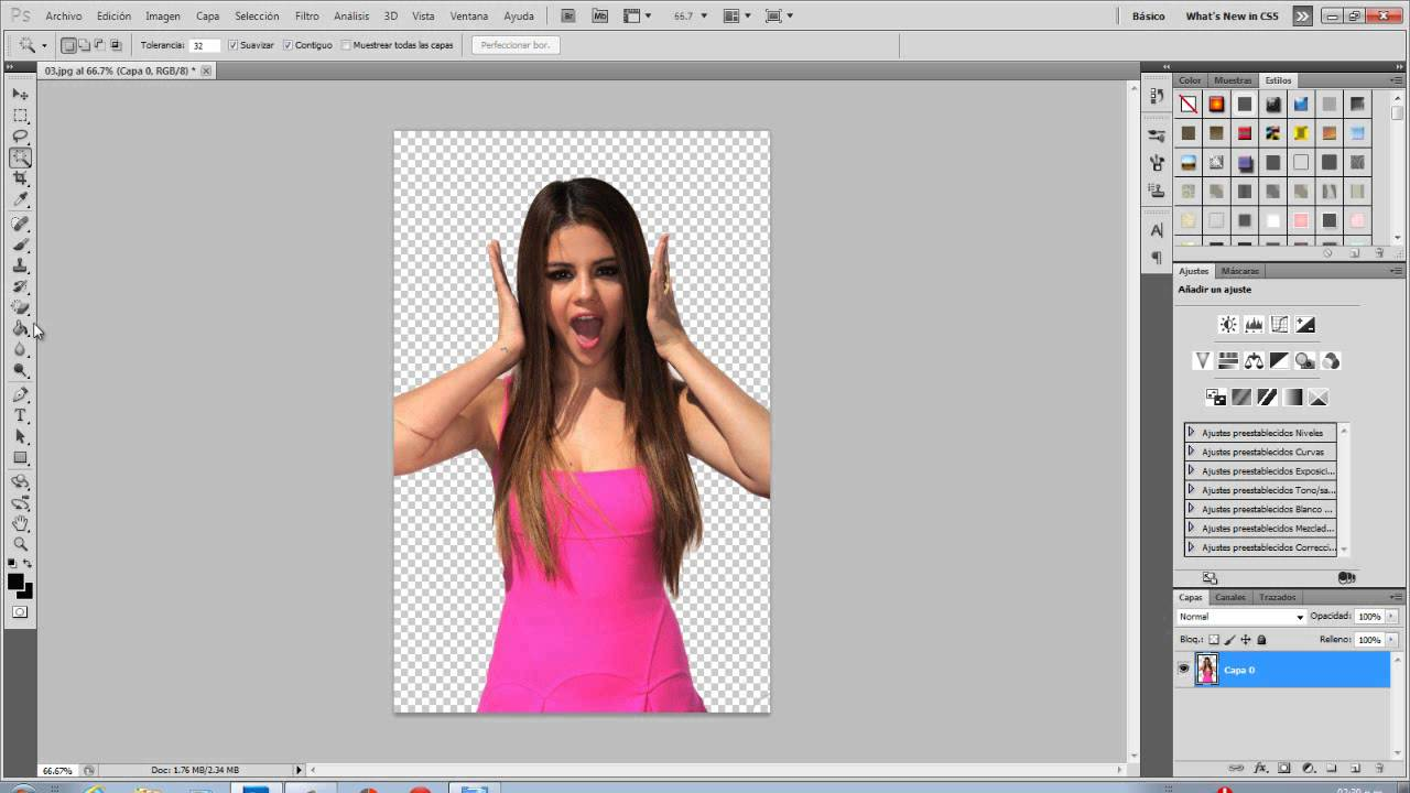 como convertir una foto jpg a png en photoshop cs5.