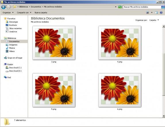 Cómo convertir un archivo png a jpg, pdf o gif.