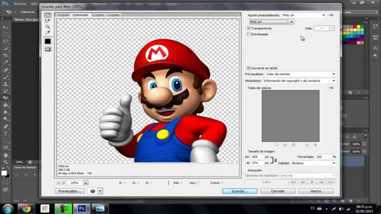 Como crear imágenes sin fondo(PNG) con Photoshop Cs6 2017.