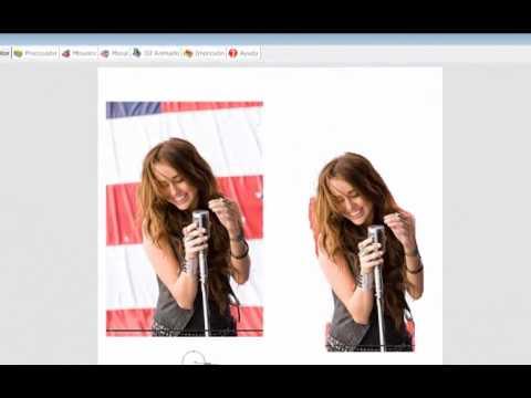 como hacer una imagen formato PNG o sin fondo en Photoscape.